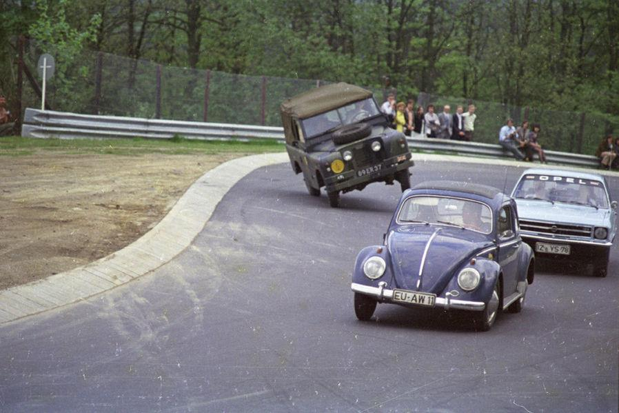 Racing on the Nurburg ring in the 1970's